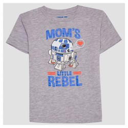 Toddler Boys' Star Wars Short Sleeve T-Shirt - Heather Gray