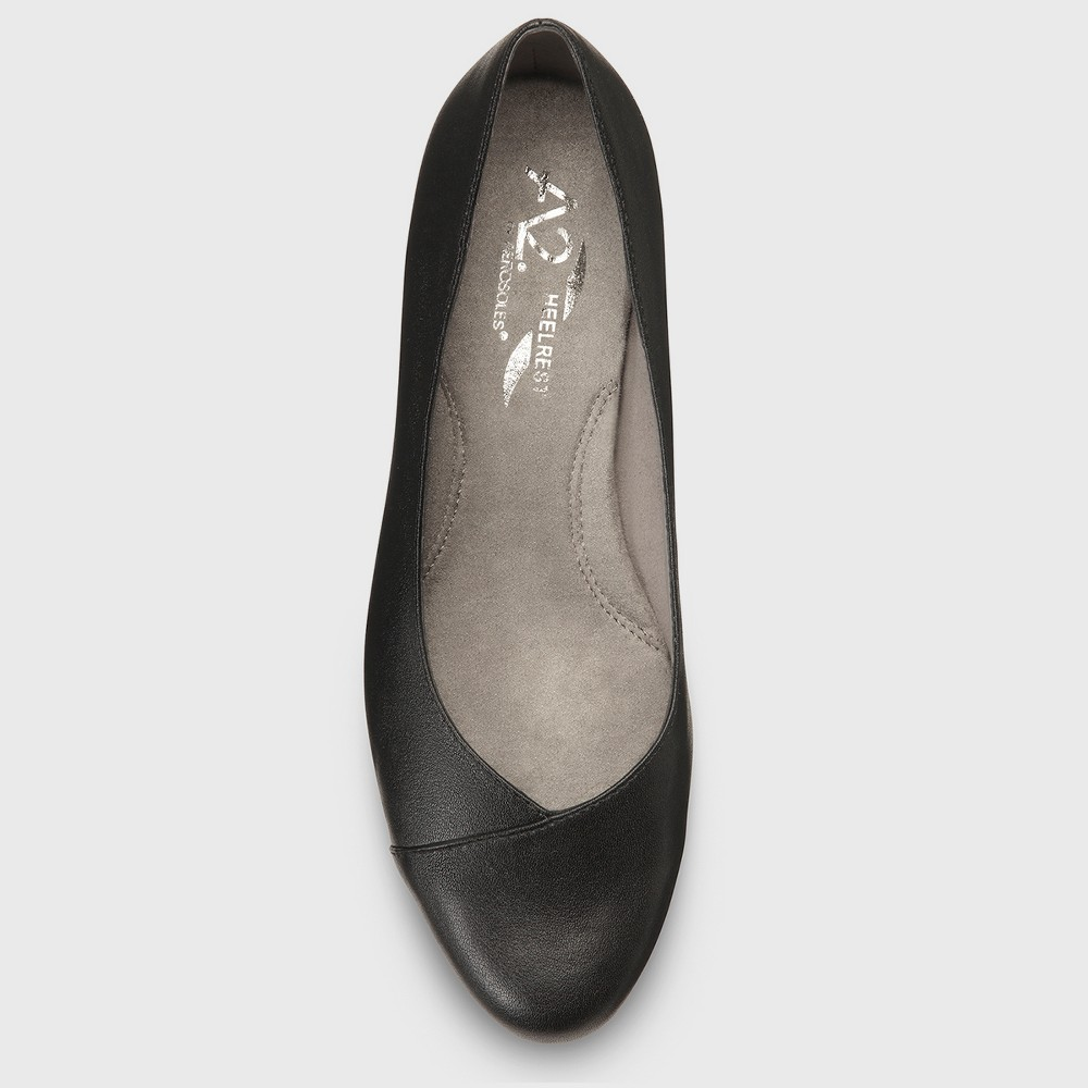 Womens A2 by Aerosoles First Love Faux Leather Loafers - Black 6