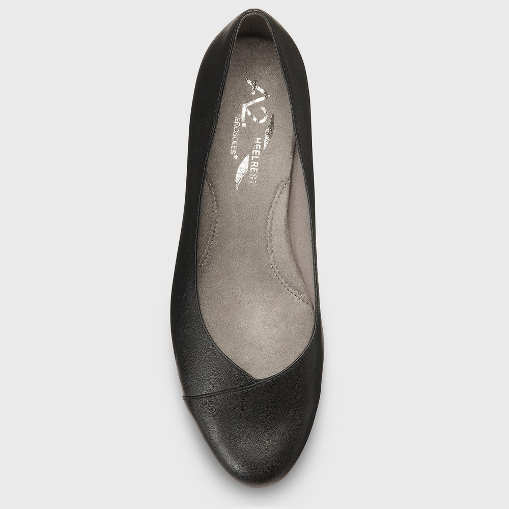 Womens A2 by Aerosoles First Love Faux Leather Loafers - Black 8