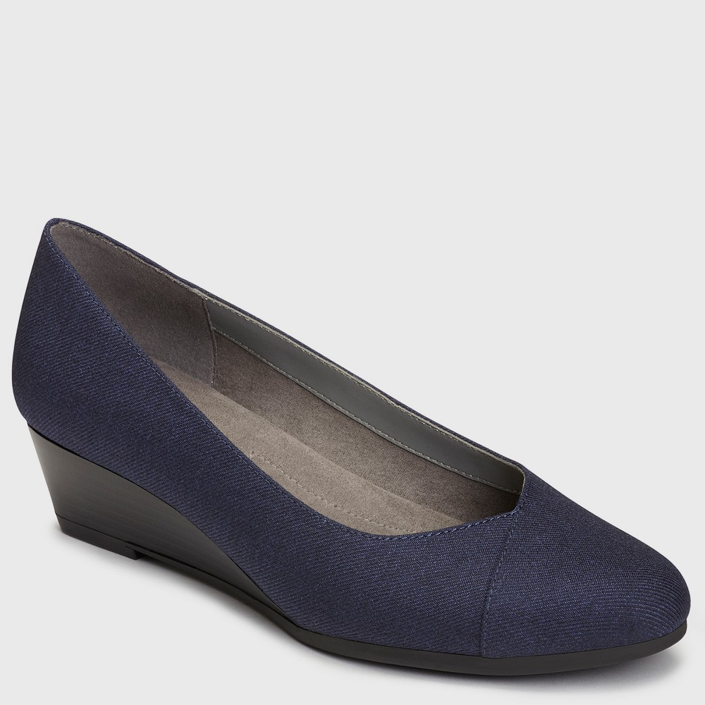 Womens A2 by Aerosoles First Love Loafers - Navy (Blue) 8