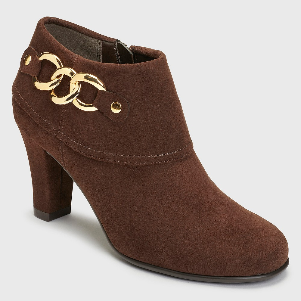 Womens A2 by Aerosoles First Role Booties - Brown 11