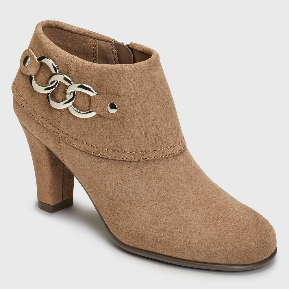 Womens A2 by Aerosoles First Role Booties - Mink 9.5