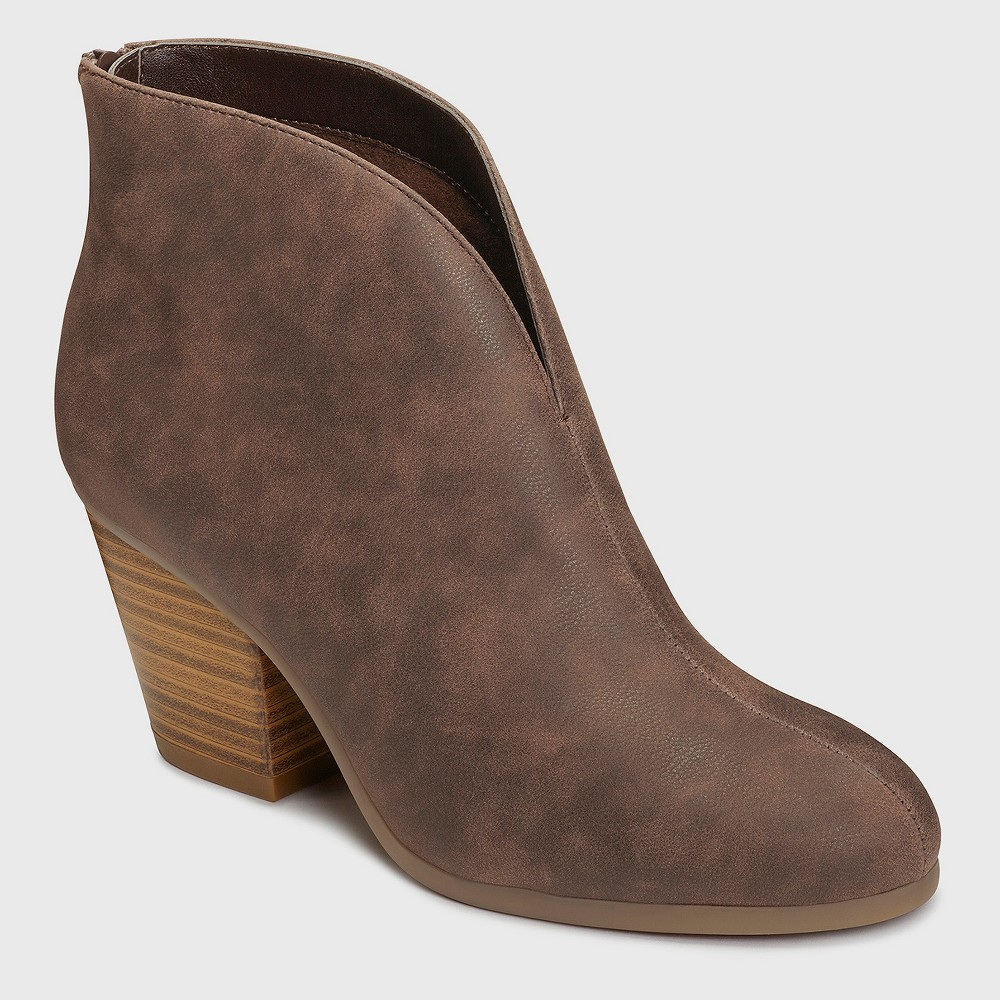 Womens A2 by Aerosoles Gravity Booties - Brown 11