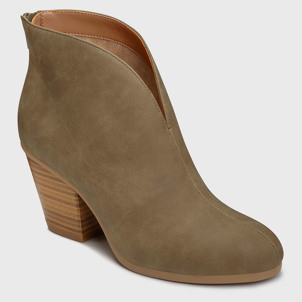 Womens A2 by Aerosoles Gravity Booties - Green 7.5