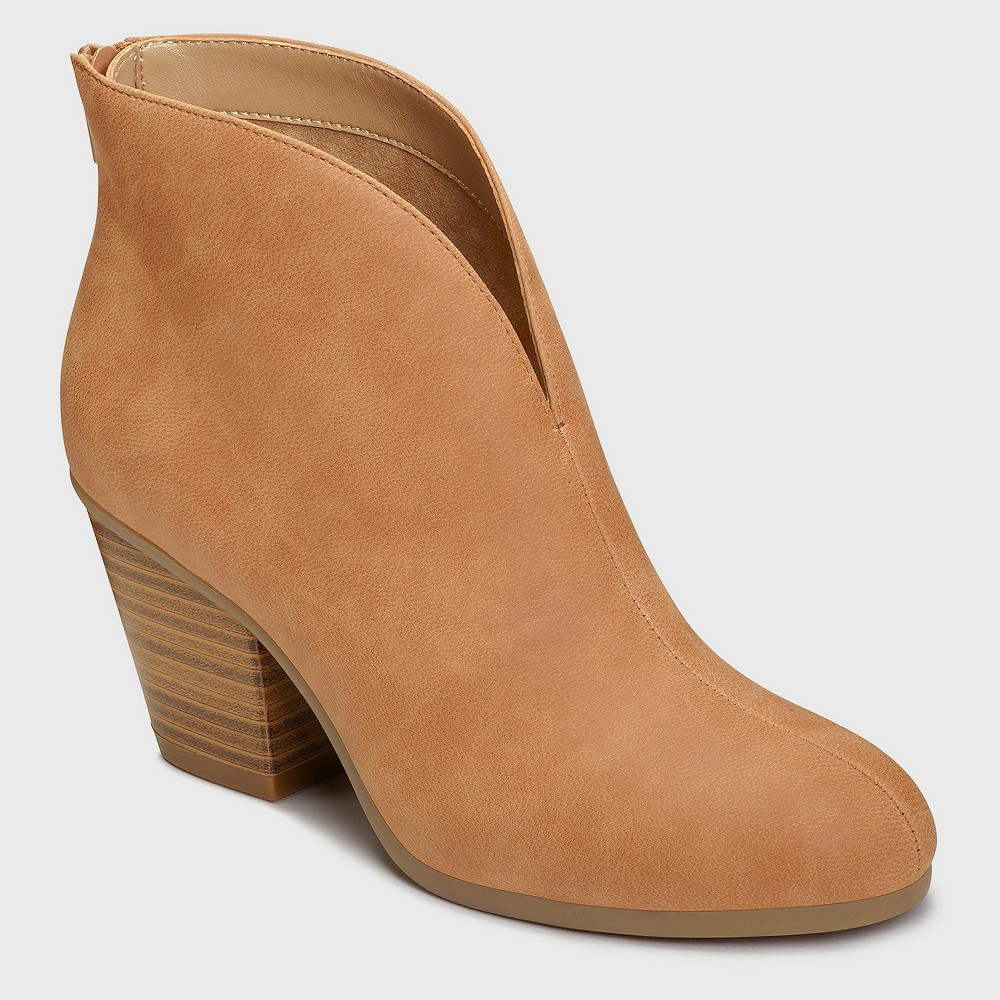 Womens A2 by Aerosoles Gravity Booties - Tan 5.5