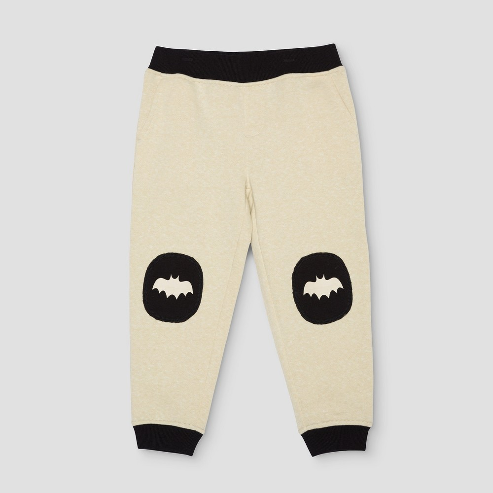 Jogger Pants DC Comics Batman Cream 3T, Infant Boys, Beige