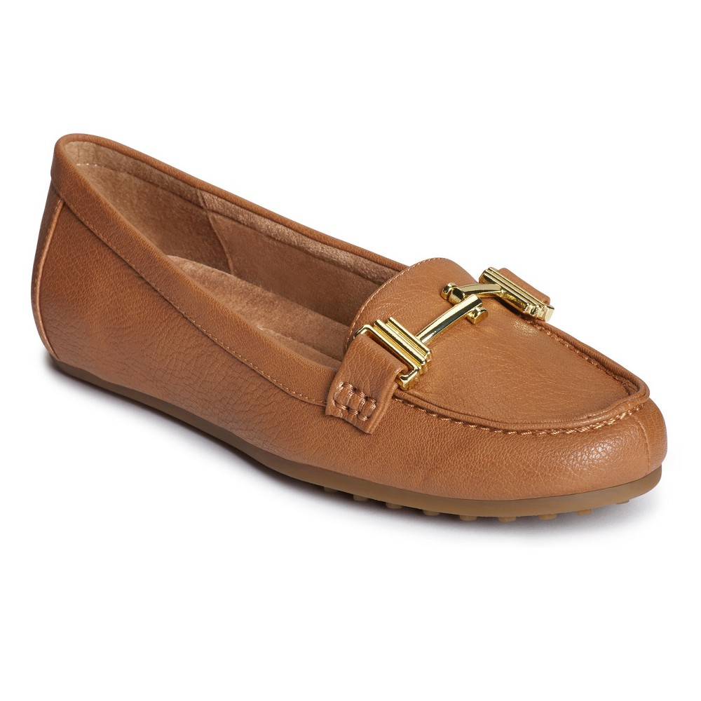 Womens A2 by Aerosoles Test Drive Loafers - Tan 6.5