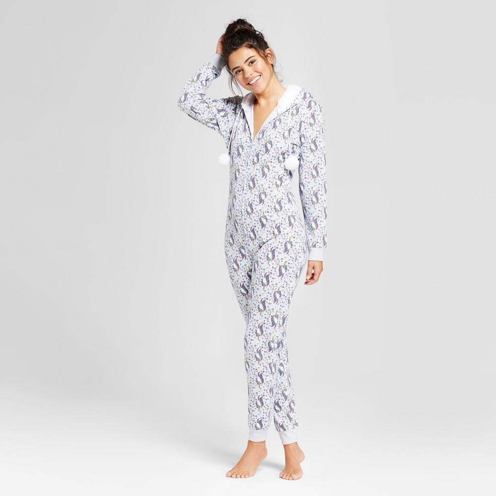 Womens Union Suits Pajama Drama M Lavender, Purple