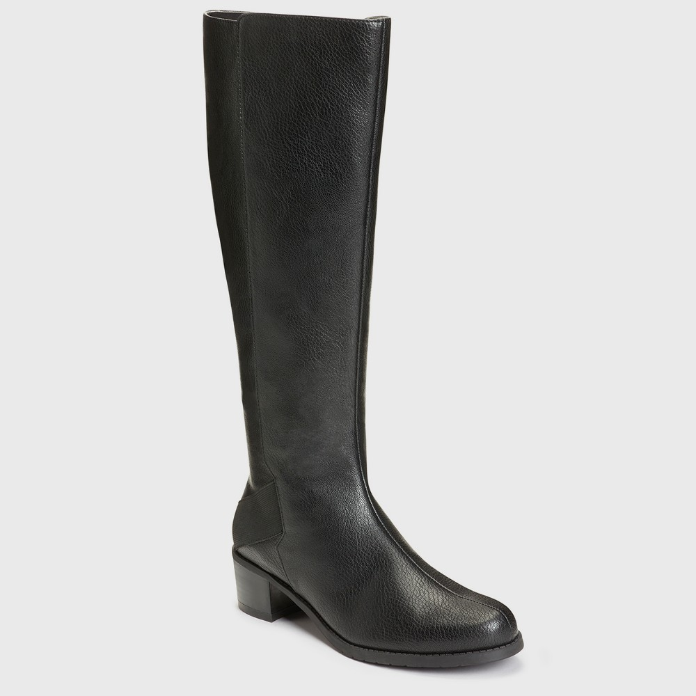 Womens A2 by Aerosoles Craftwork Knee High Boots - Black 9