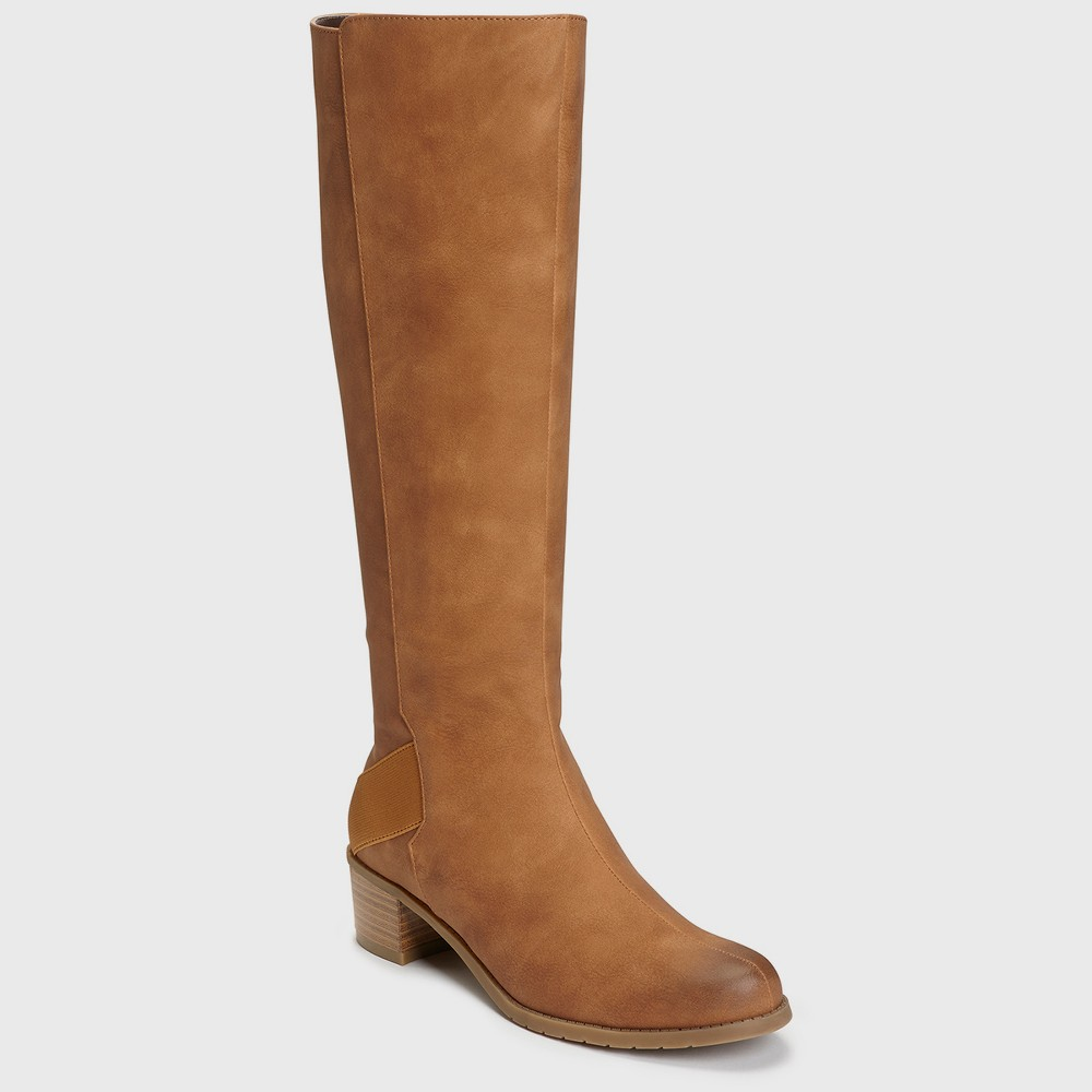 Womens A2 by Aerosoles Craftwork Knee High Boots - Tan 6.5