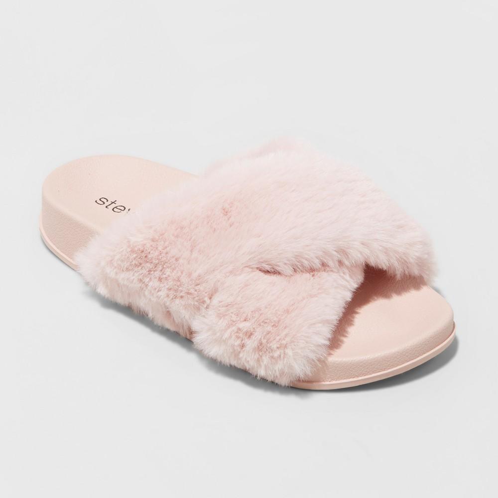 Girls Stevies #gottahavit Slide Sandals - Blush 5, Pink