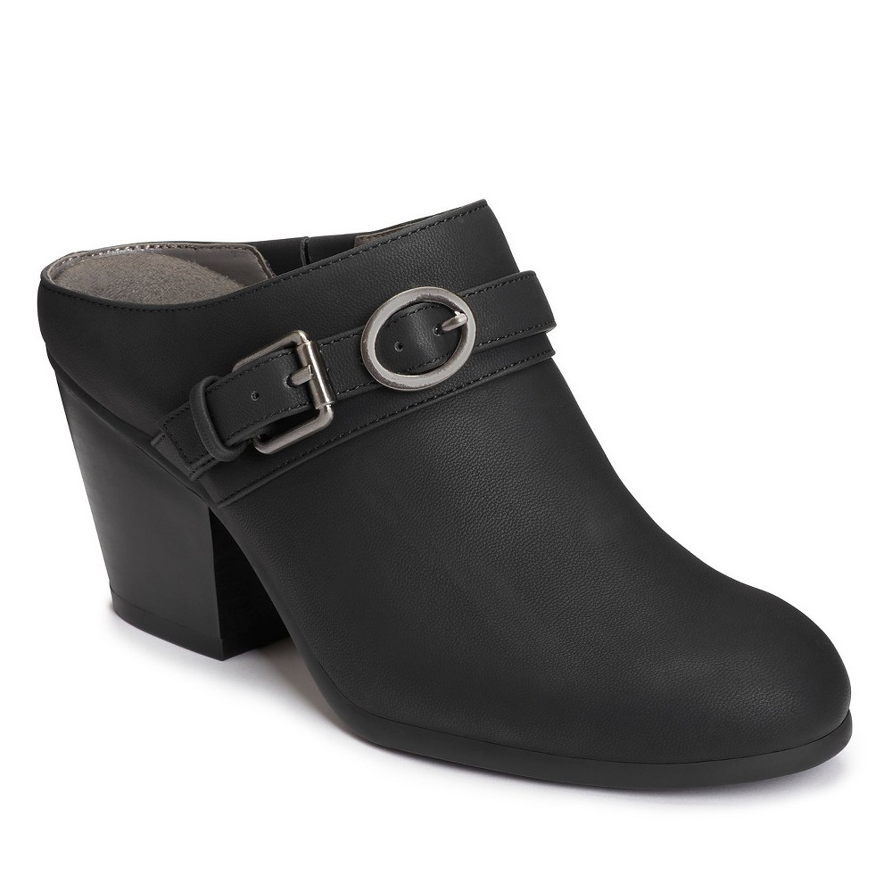 Womens A2 by Aerosoles Velviteen Mules - Black 10