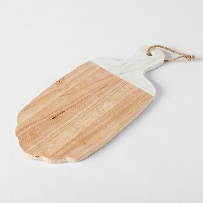Wood Cheese Board White - Threshold™