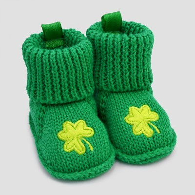 Baby Boys' Knit Booties - Just One You® made by carter's  Green NB