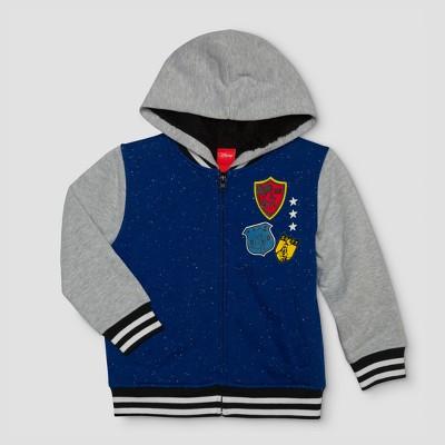 Toddler Boys' Disney Long Sleeve Fleece Jacket - Blue 18M