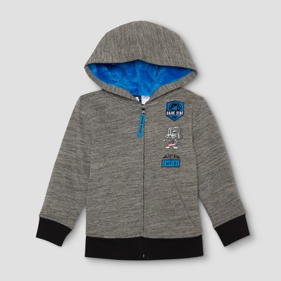 Toddler Boys' Star Wars Outerwear Coats & Jackets - Gray Space 2T