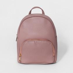 Women's OMG! Accessories Vegan Leather Mini Backpack