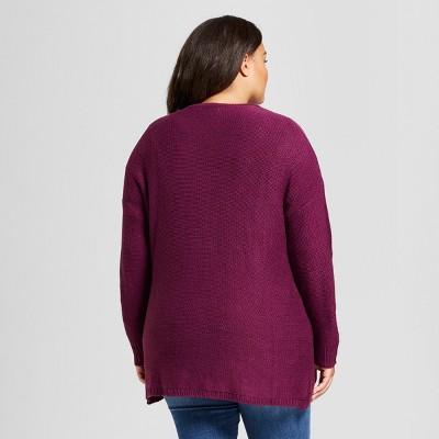 Purple : Plus Size Sweaters : Target