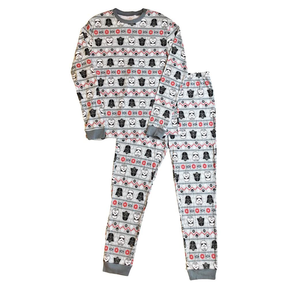 Star Wars Mens Pajama Set - Gray L