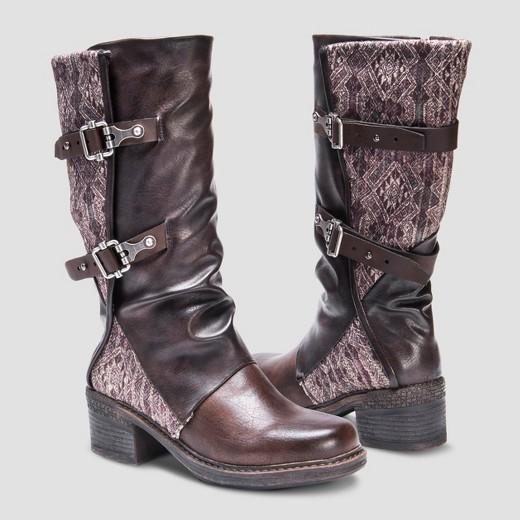 s muk luks 174 fashion boots brown target
