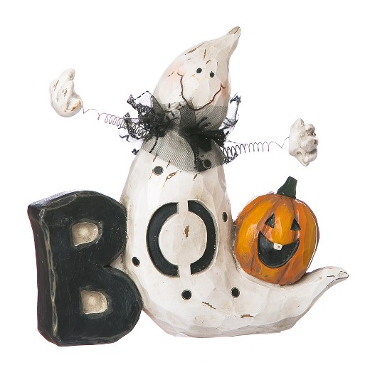 Halloween Boo Ghost Polystone Word Table D Cor Target