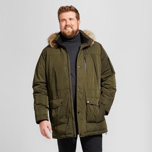 Men's Big & Tall Arctic Parka - Goodfellow & Co™ Olive Green : Target