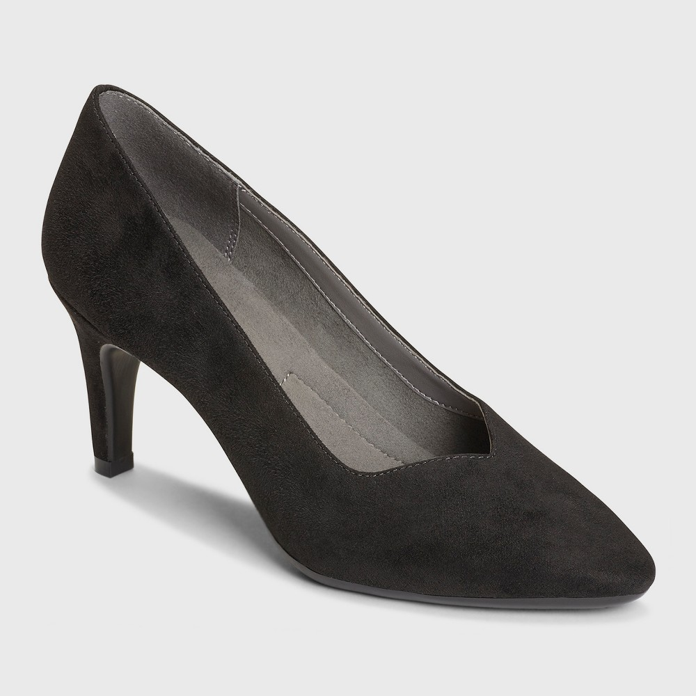 Imn Shoes Adult Pumps Expert A2 by Aerosoles Black 7, Womens, Midnight Black
