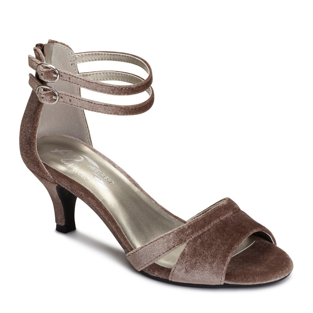 Womens A2 by Aerosoles Vineyard Pumps - Taupe (Brown) 12