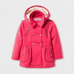Explorer by Urban Republic® Toddler Girls' Double Breasted Fleece Jacket - Pink