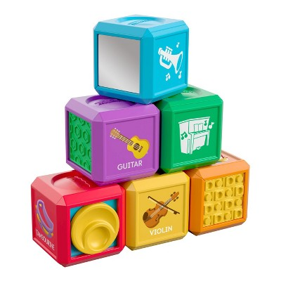 Fisher-Price Laugh and Learn First Words Music Blocks