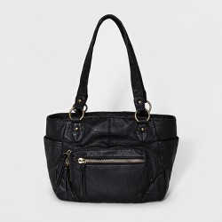 Bueno Women's Pebble Washed Tote Handbag