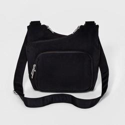 Bueno Crushed Nylon Crossbody Handbag