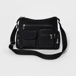 Bueno  Women's Crushed Nylon Crossbody Handbag