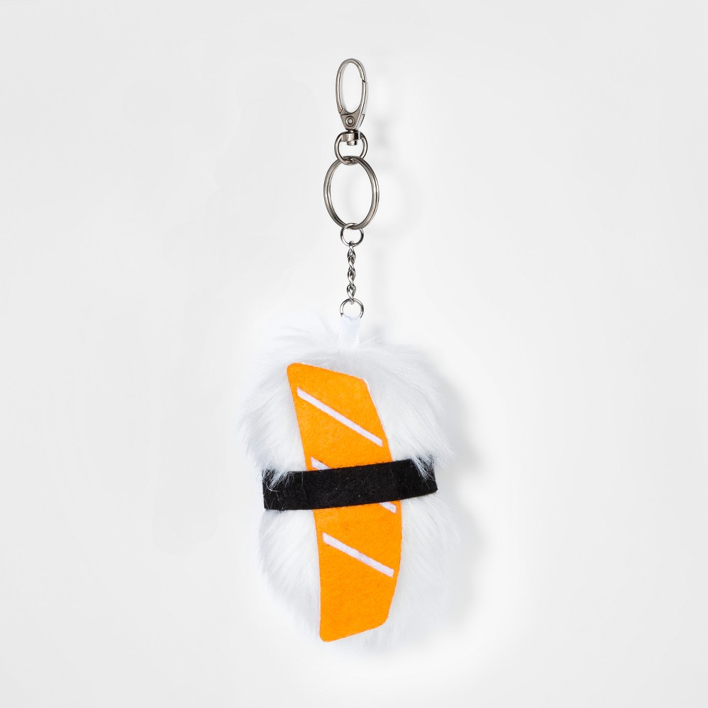 Kids' Sushi Keychain, Girl's, White