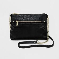 Women's Top Zip Crossbody Handbag - A New Day™