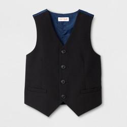 Toddler Boys' Sleeveless Suit Vest - Cat & Jack™ Black