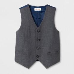 Toddler Boys' Sleeveless Suit Vest - Cat & Jack™ Gray