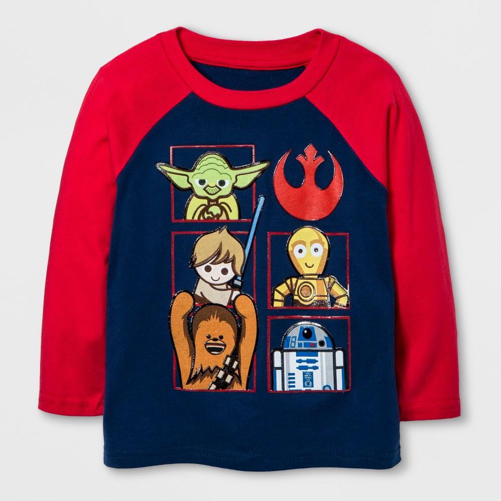 T-Shirt Star Wars Navy 2T, Boys, Blue