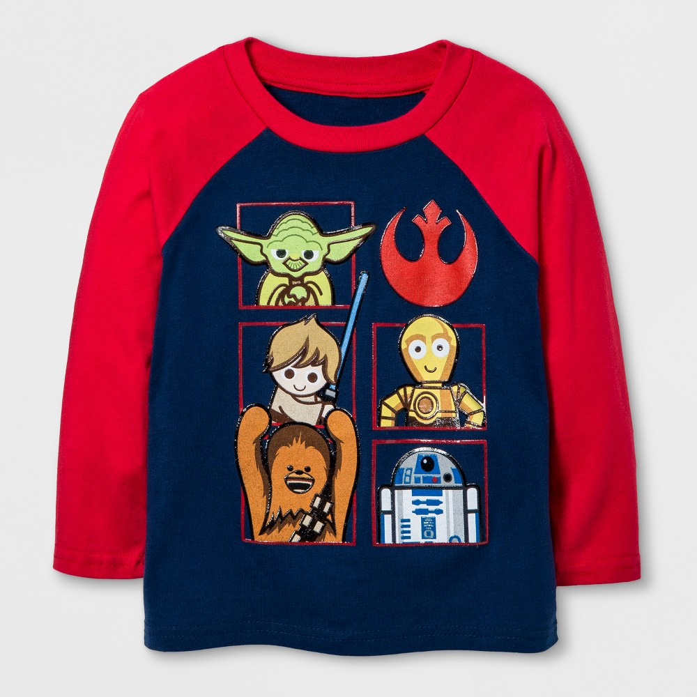 T-Shirt Star Wars Navy 4T, Boys, Blue