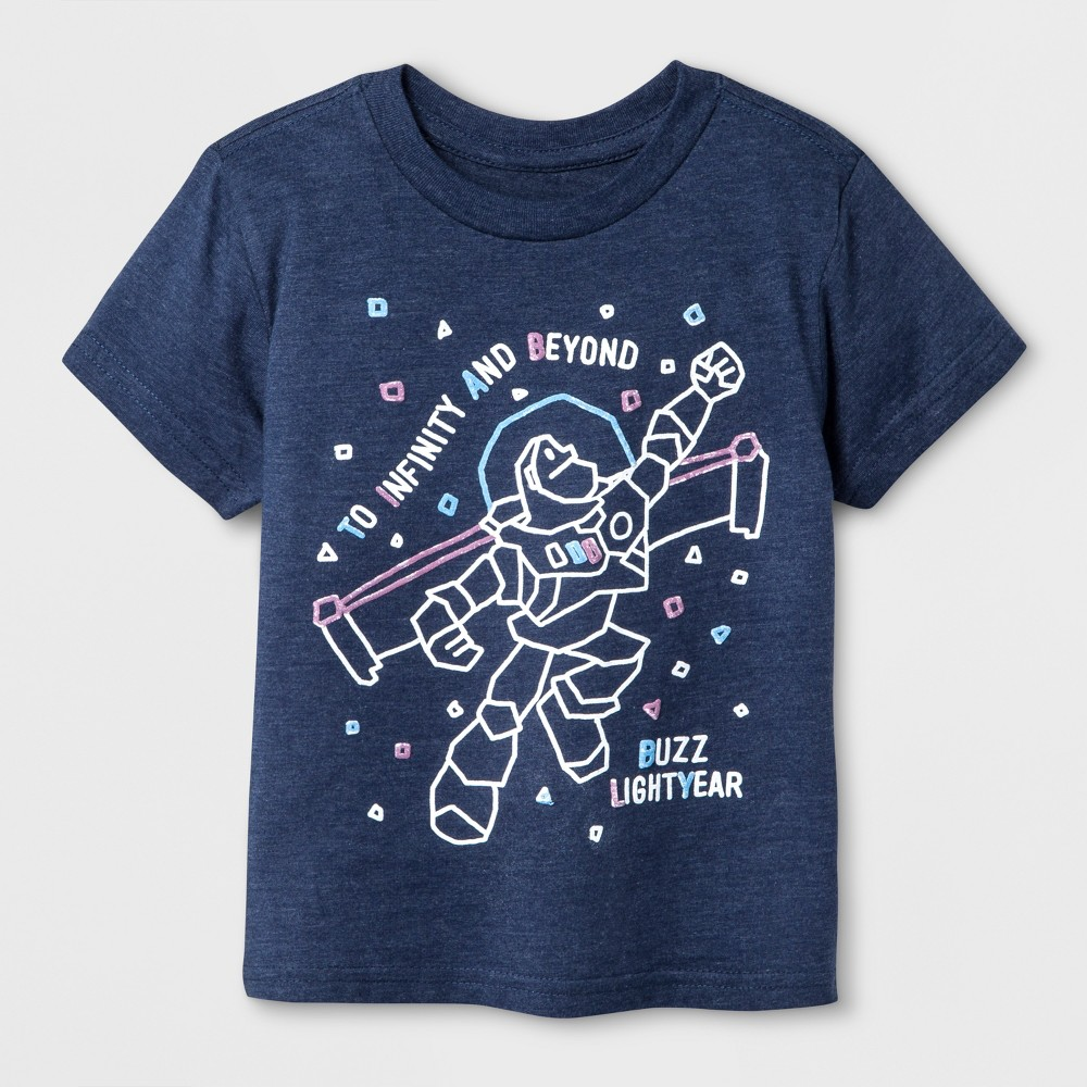 T-Shirt Toy Story Heathered Navy 3T, Boys, Blue
