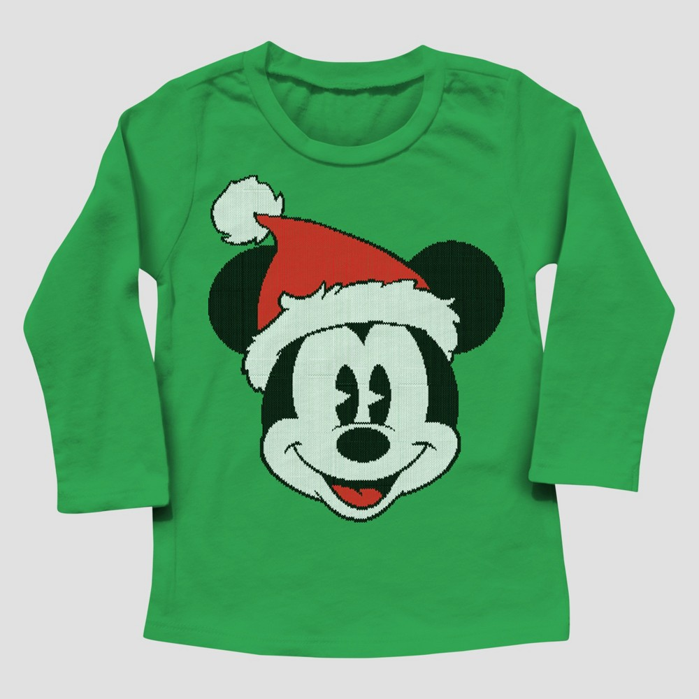 T-Shirt Mickey Mouse & Friends Kelly Green 4T, Boys