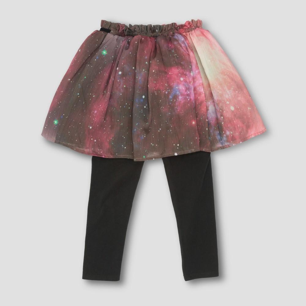 Toddler Girls Afton Street Supernova Skegging - Purple -12 M, Size: 12 Months