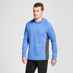Men's Long sleeve Hooded T-Shirt - C9 Champion® Flight Blue
