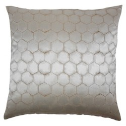"Gray Square Throw Pillow (18""x18"") - The Pillow Collection"