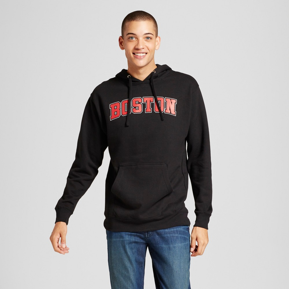 Mens Boston Hoodie Black Xxl - Awake