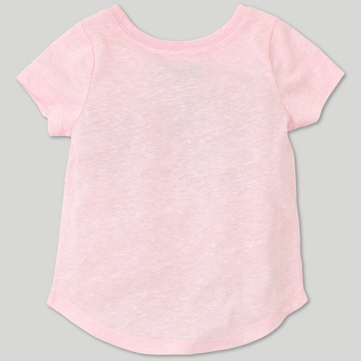 Toddler Girls' Back to the Future Short Sleeve T-Shirt - Pink : Target