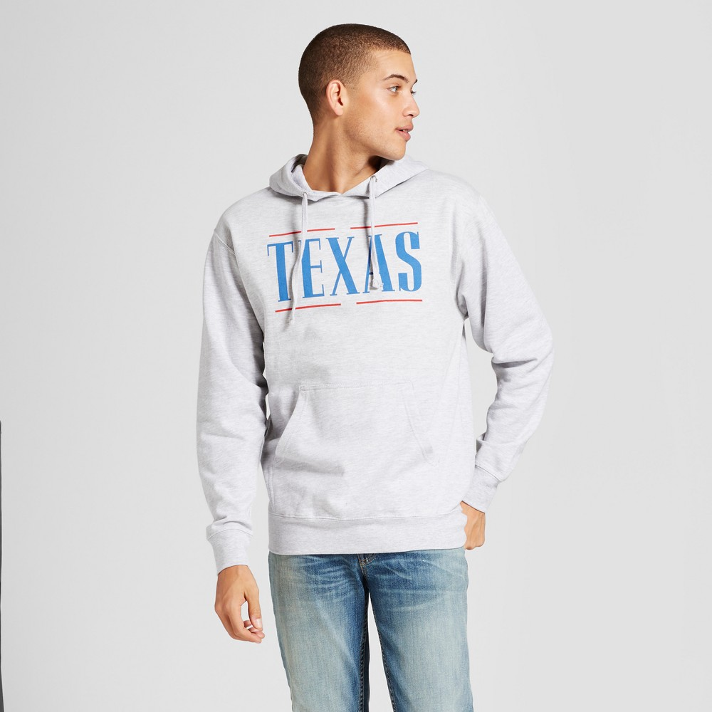 Mens Texas Hoodie Gray S - Awake, Black