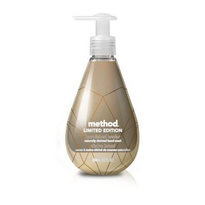 Method Urban Metallic Limited Edition Gel Hand Soap Burnished Cedar - 12 fl oz