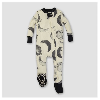 Burt's Bees Baby® Organic Hello Moon! Sleeper - White/Black 0-3M