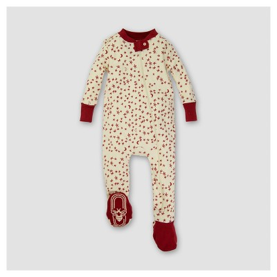 Burt's Bees Baby® Organic Star Bright Sleeper - Red 6-9M